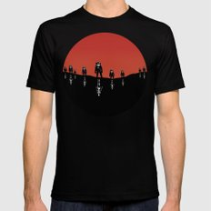 The Rust Coloured Soil: Something Strangely Familiar Mens Fitted Tee Black LARGE