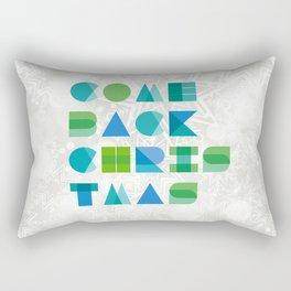 In memory of Allen Ginsberg Rectangular Pillow