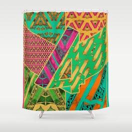 Tile 4 Shower Curtain