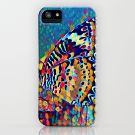 Butterfly Pizazz | Oil Painting iPhone Case