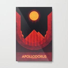 Mercury - Apollodorus Metal Print