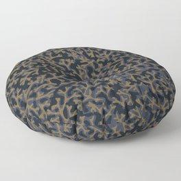 ORGANIC PATTERN DARK Floor Pillow
