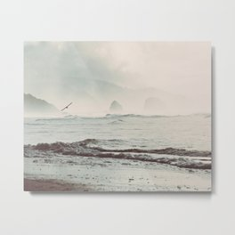 Great American Road Trip - Oregon Coast Metal Print