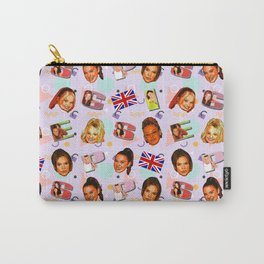 Spice Girls pattern art Carry-All Pouch