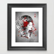 Chiharu Framed Art Print
