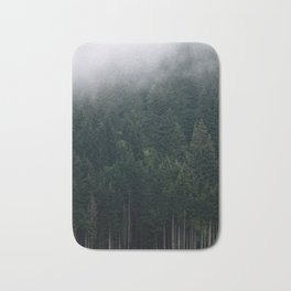 Mystic Pines - A Forest in the Fog Bath Mat