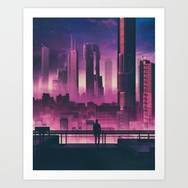 ZERO DAWN (everyday 04.29.18) Art Print