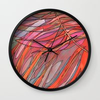palms Wall Clocks featuring Palms by Carla_S