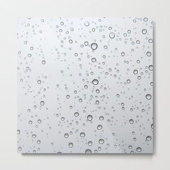 Rain Drop Metal Print