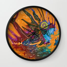 The Swamps Of Frigg Wall Clock