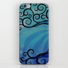 Tree of Life - Cool Blue iPhone Skin