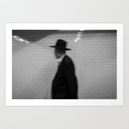 Old Man with a Hat, C Art Print