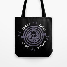 Three Turns Tote Bag