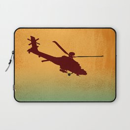 Copter at Sunrise Laptop Sleeve