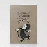 chaplin Stationery Cards featuring Chaplin by GARABATOS