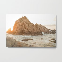 Sugarloaf Rock Metal Print