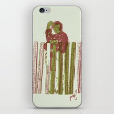 Billygoat with a blowtorch iPhone & iPod Skin