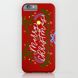 MERRY XMASK iPhone Case