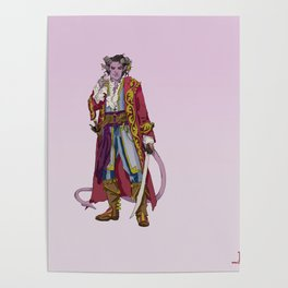 Mollymauk of the Mighty Nein Poster