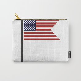 flag of the united states Carry-All Pouch