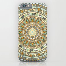Pug Yoga Medallion iPhone 6 Slim Case