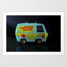 The Mystery Machine Art Print