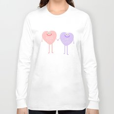 Candy Sweethearts  Long Sleeve T-shirt