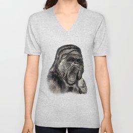 Gorilla Ink Unisex V-Neck