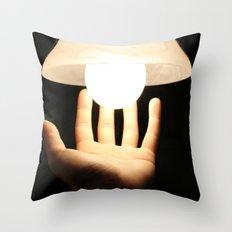 Just Glow Throw Pillow