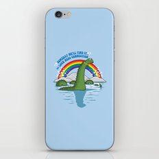 The Lochness Connection iPhone & iPod Skin