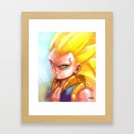 Fused Warrior's New Level Framed Art Print