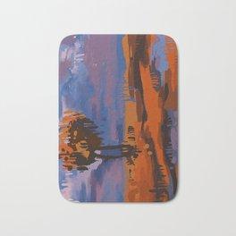 Vertical Landscape Bath Mat