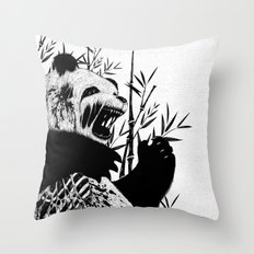 Panda Z Throw Pillow
