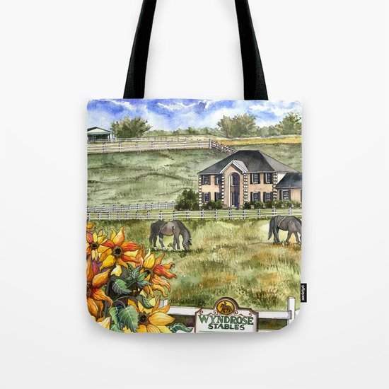 The Horse Ranch Tote Bag