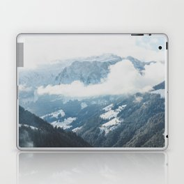 In the Valley of Mountains Laptop & iPad Skin