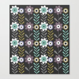 Nocturnal flowers Canvas Print