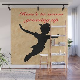 Never growing up Wall Mural