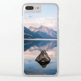 Medicine Lake Clear iPhone Case