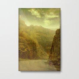 Cheddar Gorge. Metal Print