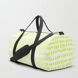 The green green grass of home - a handmade pattern Duffle Bag