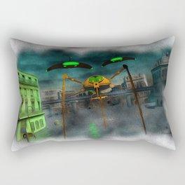 War of the Worlds Part 1 Rectangular Pillow