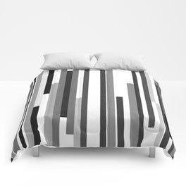 White Lines Comforters