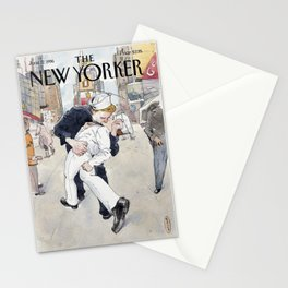 """Cover of """" The new Yorker"""" magazine.  June 17 1996. Stationery Cards"""