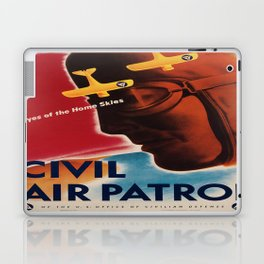 Vintage poster - Civil Air Patrol Laptop & iPad Skin