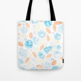 Floral Pattern #2 | Retro Palette Tote Bag