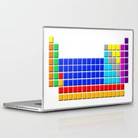 periodic table Laptop & iPad Skins featuring PERIODIC TABLE OF ELEMENTS by darlthedreamer