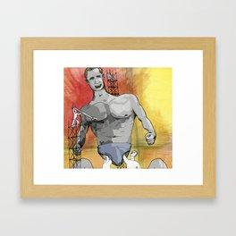Atlas Deconstructed Framed Art Print