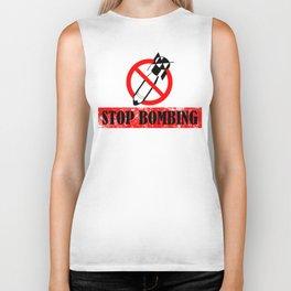 Stop Bombing Biker Tank