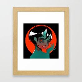 Oni (鬼) Framed Art Print