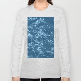 Blue Botanical Long Sleeve T-shirt